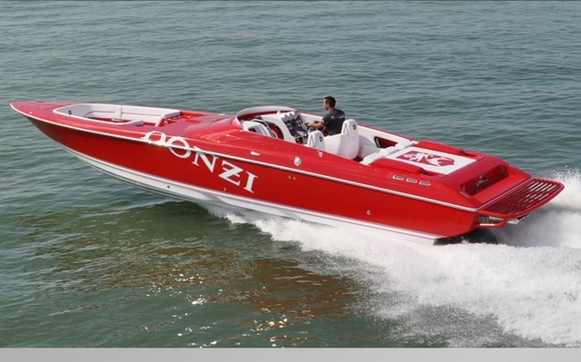 2011 Donzi 35 ZR Open