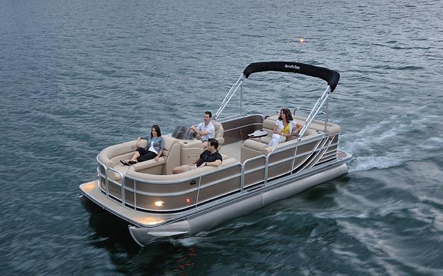 South Bay Pontoon 522FCR/FCR TT 2014