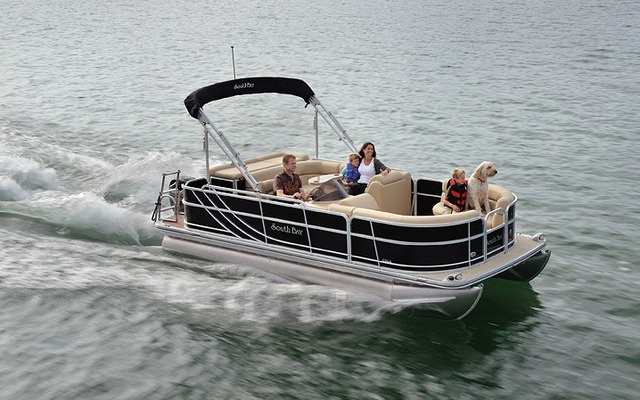 South Bay Pontoon 422CR/CR A/CR B 2014