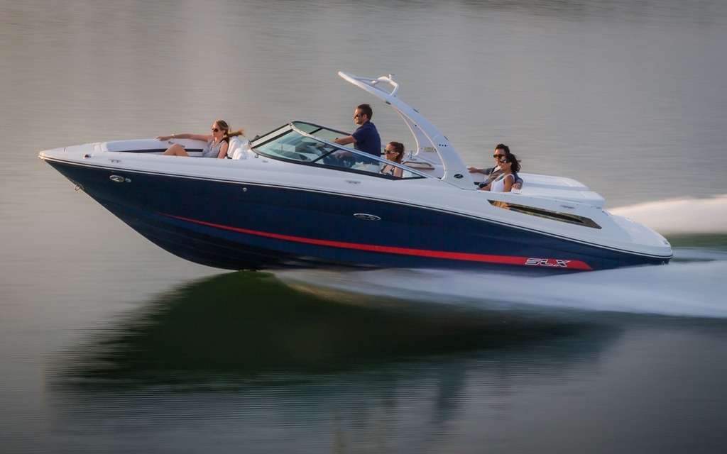2015 Sea Ray SLX 250 - Tests, news, photos, videos and wallpapers