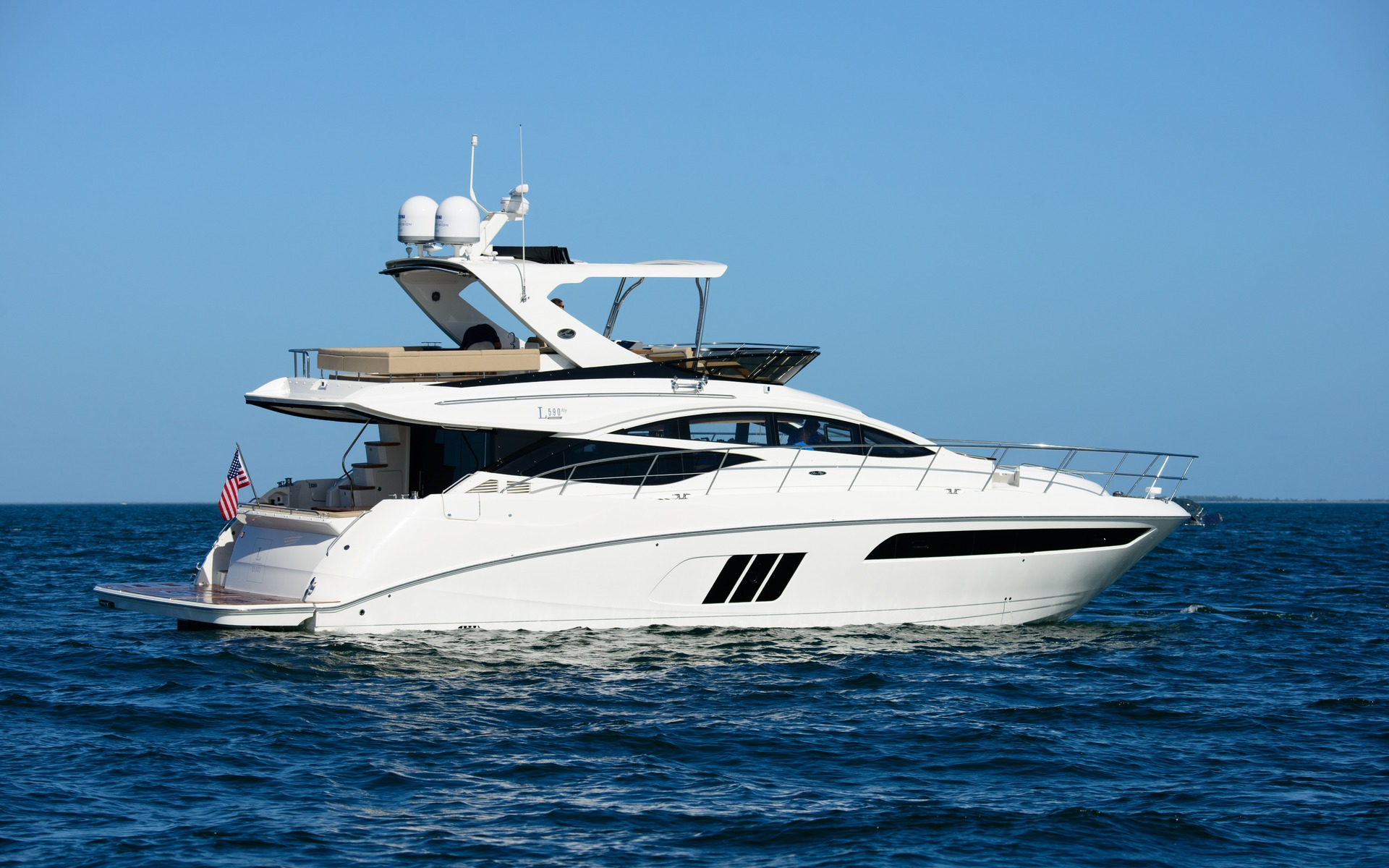 2015 Sea Ray L590 FLY - Tests, news, photos, videos and