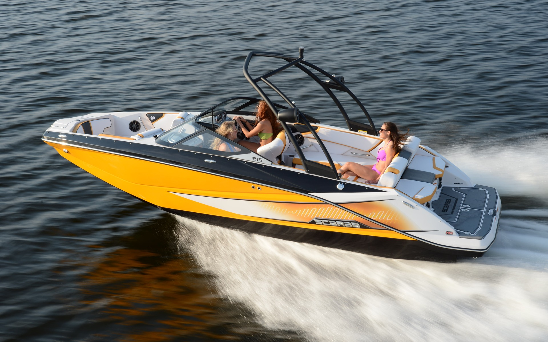 2015 Scarab Boats 215 HO Impulse