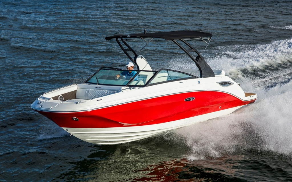 2018 Sea Ray SDX 250 - Tests, news, photos, videos and