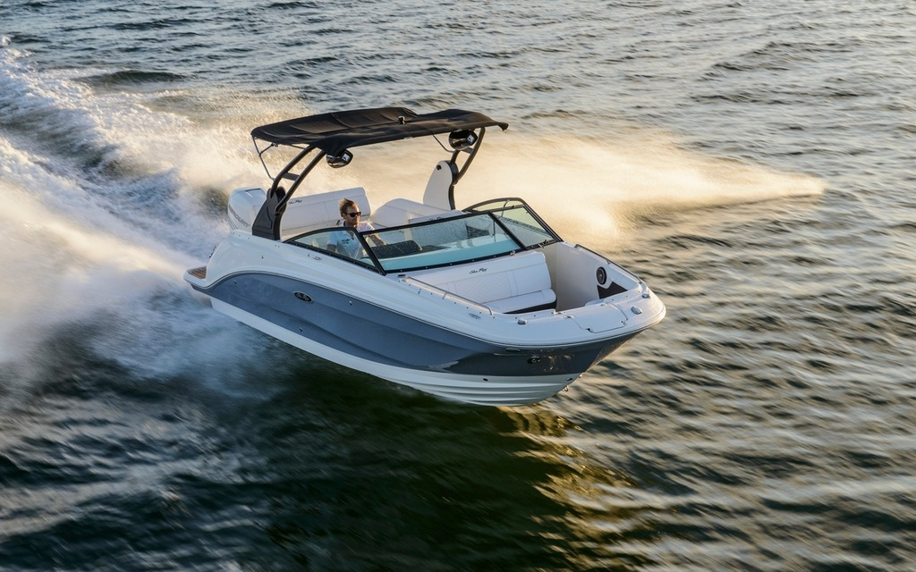2018 Sea Ray SDX 250 OB - Tests, news, photos, videos and